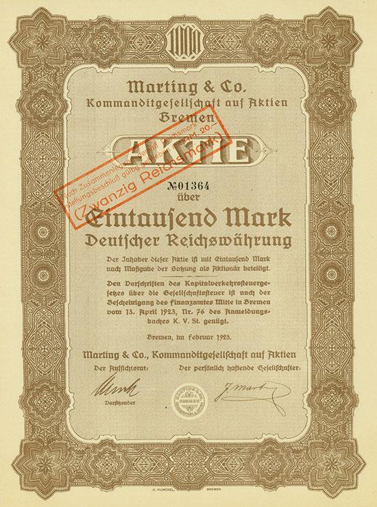 Marting & Co. KGaA