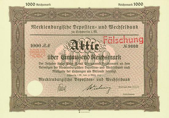 Mecklenburgische Depositen- und Wechselbank