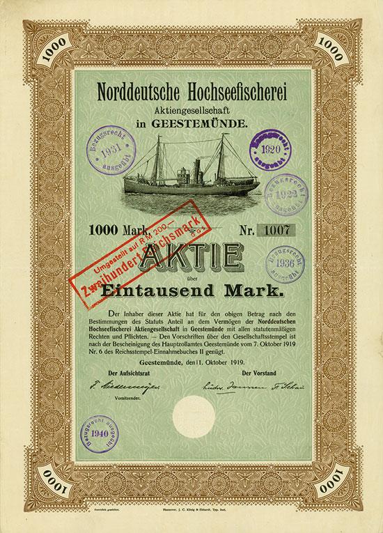 Norddeutsche Hochseefischerei AG