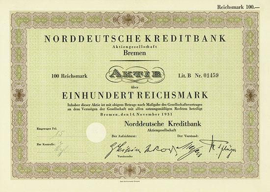 Norddeutsche Kreditbank AG