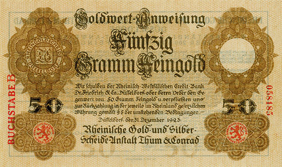 Rheinische Gold- und Silber-Scheideanstalt Thum & Conrad