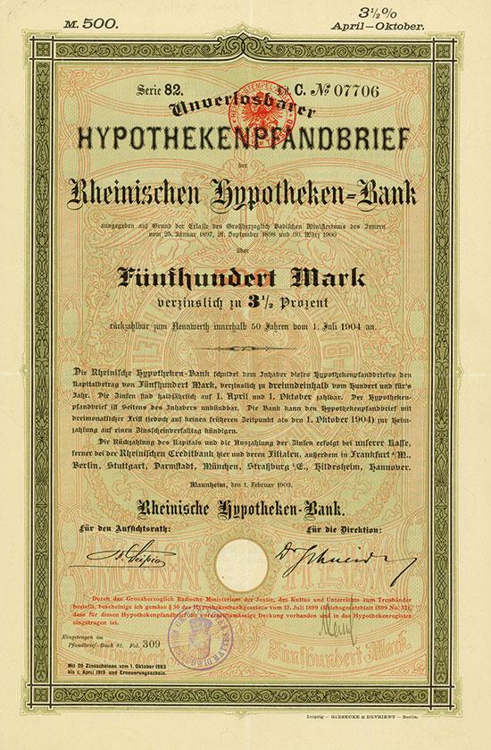 Rheinische Hypotheken-Bank