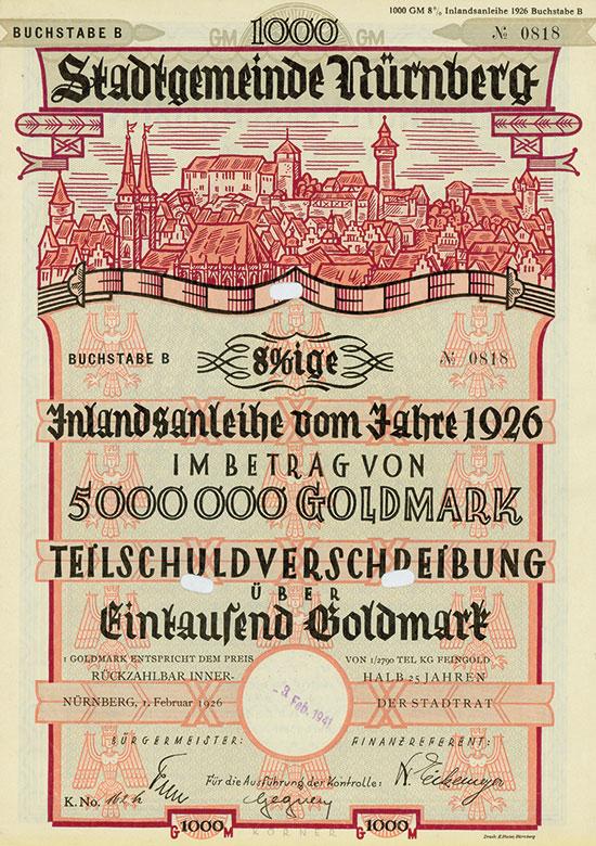 Stadtgemeinde Nürnberg