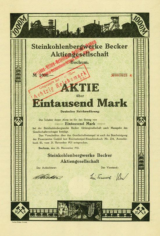 Steinkohlenbergwerke Becker AG