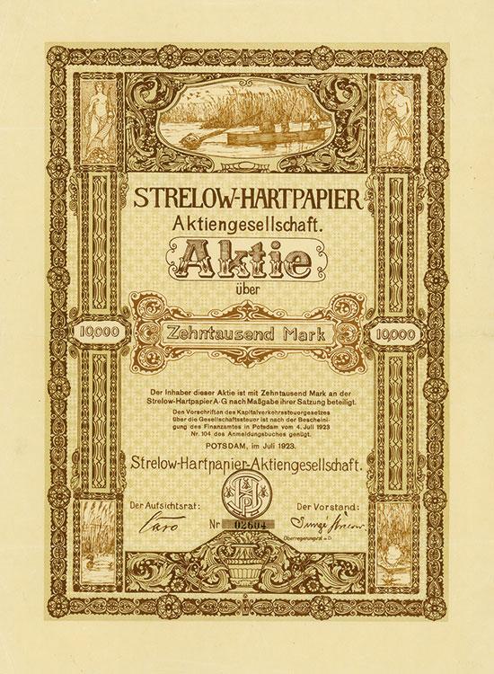 Strelow-Hartpapier AG