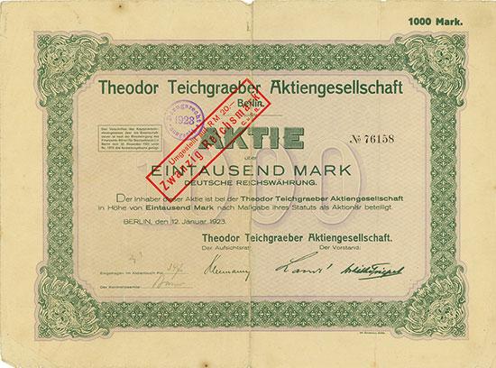 Theodor Teichgraeber AG [2 Stück]