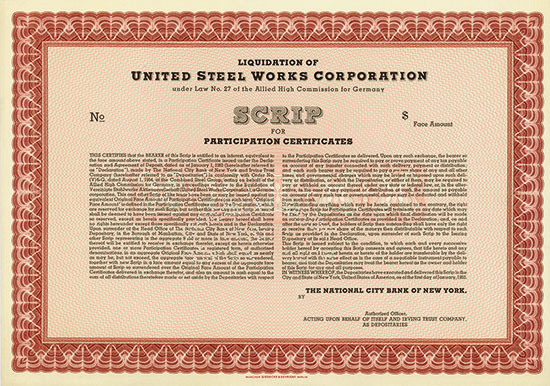 United Steel Works Corporation