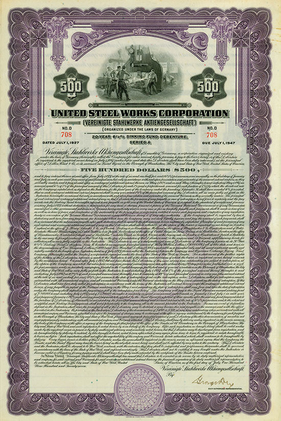 United Steel Works Corporation (Vereinigte Stahlwerke AG)