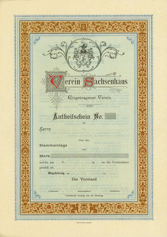 Verein Sachsenhaus