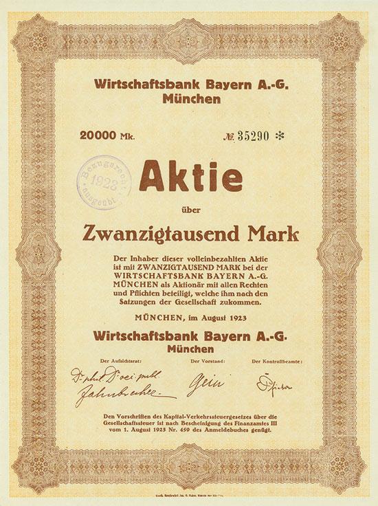 Wirtschaftsbank Bayern AG