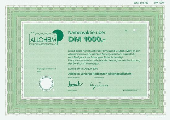 Alloheim Senioren-Residenzen AG