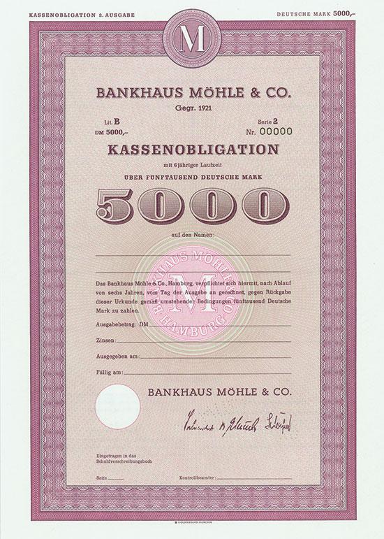 Bankhaus Möhle & Co. [2 Stück]