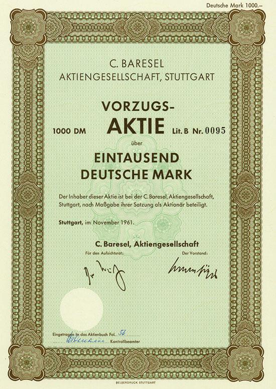 C. Baresel AG