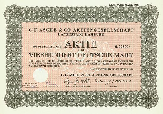C. F. Asche & Co. AG