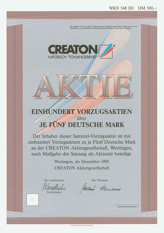 CREATON AG