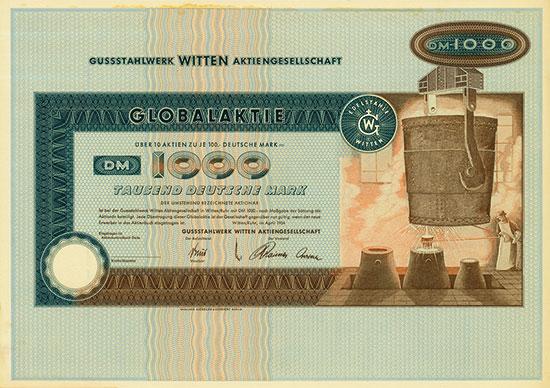 Gussstahlwerk Witten AG [4 Stück]