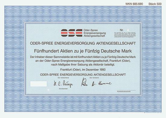 Oder-Spree Energieversorgung AG