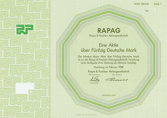 Raspe & Paschen AG