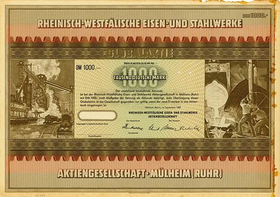Rheinisch-Westfälische Eisen- und Stahlwerke AG