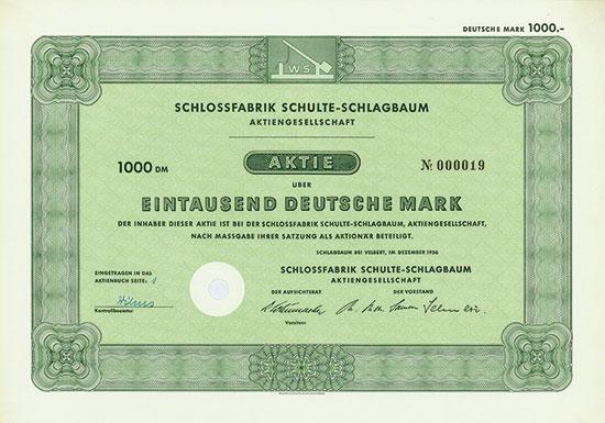Schlossfabrik Schulte-Schlagbaum