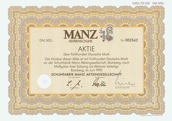 Schuhfabrik Manz AG