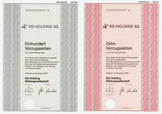 SG-Holding AG [3 Stück]