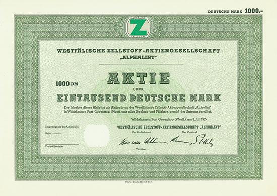 Westfälische Zellstoff-Aktiengesellschaft