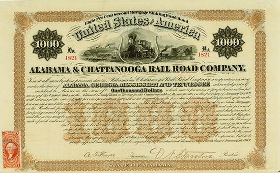 Alabama & Chattanooga Rail Road Company