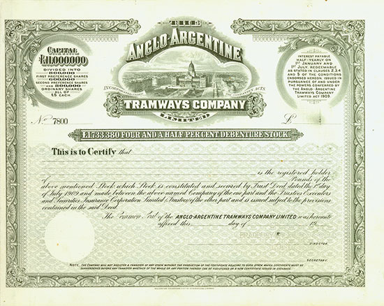 Anglo-Argentine Tramways Company Limited