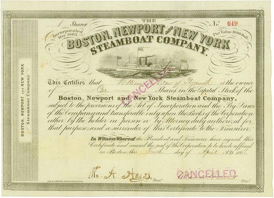 Boston, Newport and New York Steamboat Company