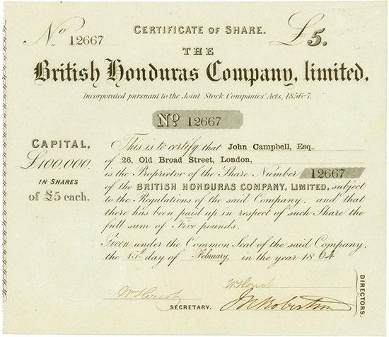 British Honduras Company, Limited