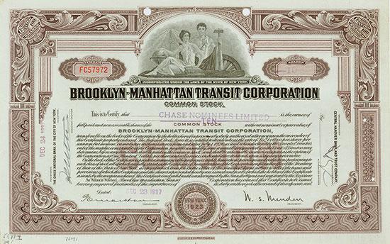 Brooklyn-Manhattan Transit Corporation