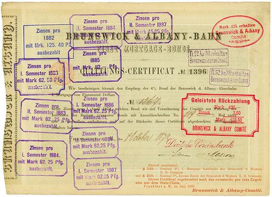 Brunswick & Albany-Bahn