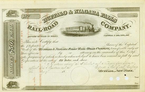Buffalo & Niagara Falls Rail-Road Company