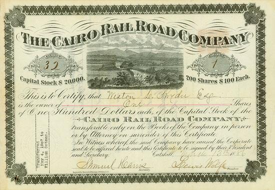 Cairo Rail Road Company