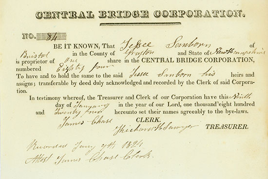 Central Bridge Corporation