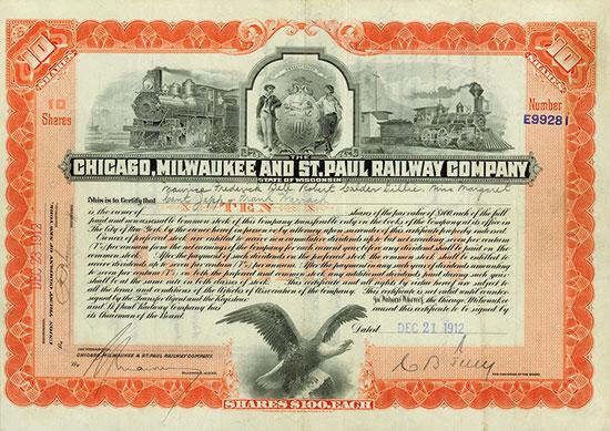 Chicago, Milwaukee and St. Paul Railway Company
