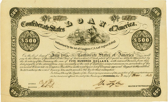 Confederate States of America (Ball 37, Criswell 51)