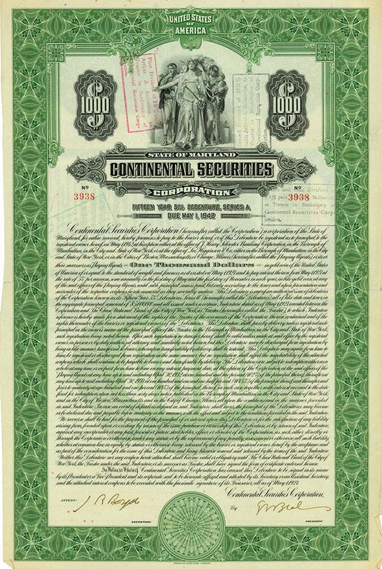 Continental Securities Corporation