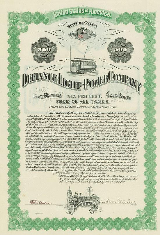 Defiance Light & Power Company