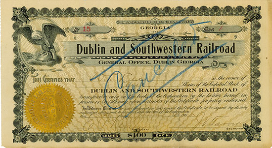 Dublin and Southwestern Railroad