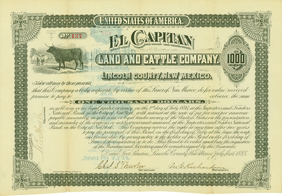 El Capitan Land and Cattle Company