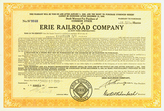 Erie Railroad Company