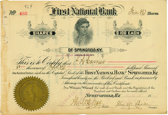 First National Bank of Springfield