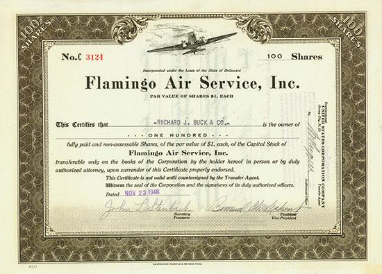 Flamingo Air Service, Inc.