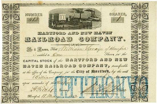 Hartford and New Haven Railroad Company