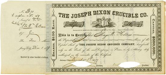 Joseph Dixon Crucible Company [2 Stück]