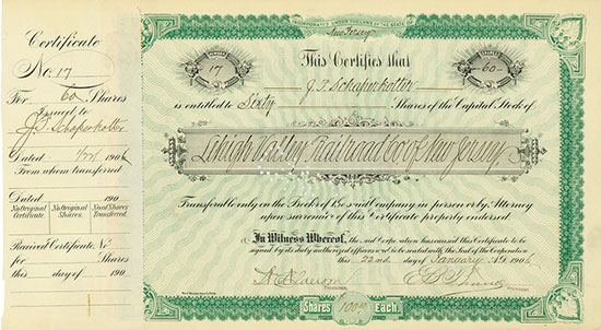 Lehigh Valley Railroad Co. of New Jersey