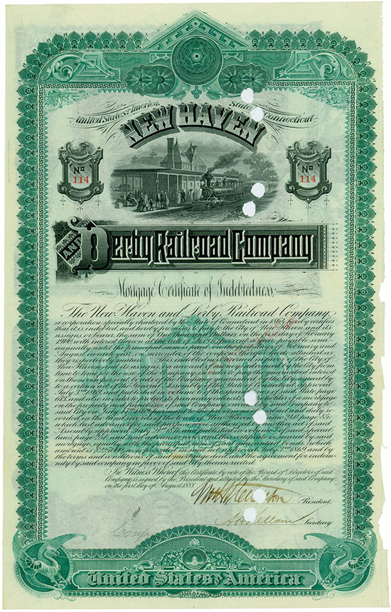 New Haven and Derby Railroad Company