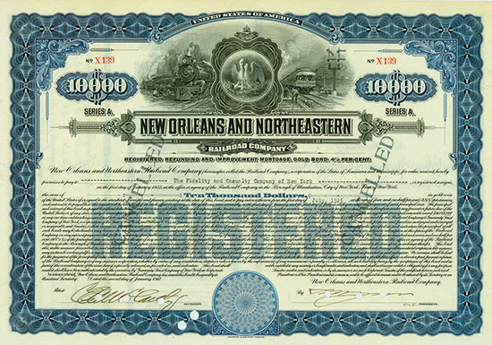 New Orleans and Northeastern Railroad Company